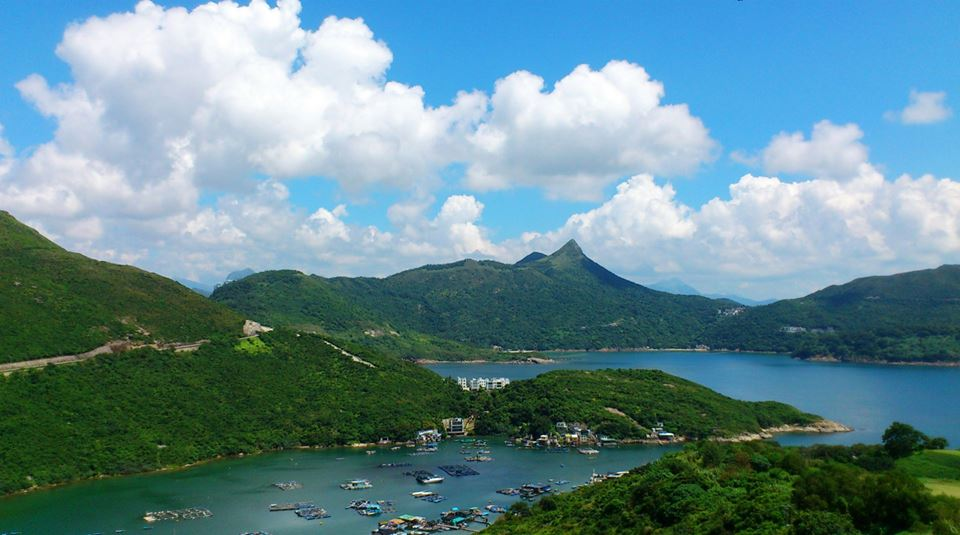 香港の尖:釣魚翁