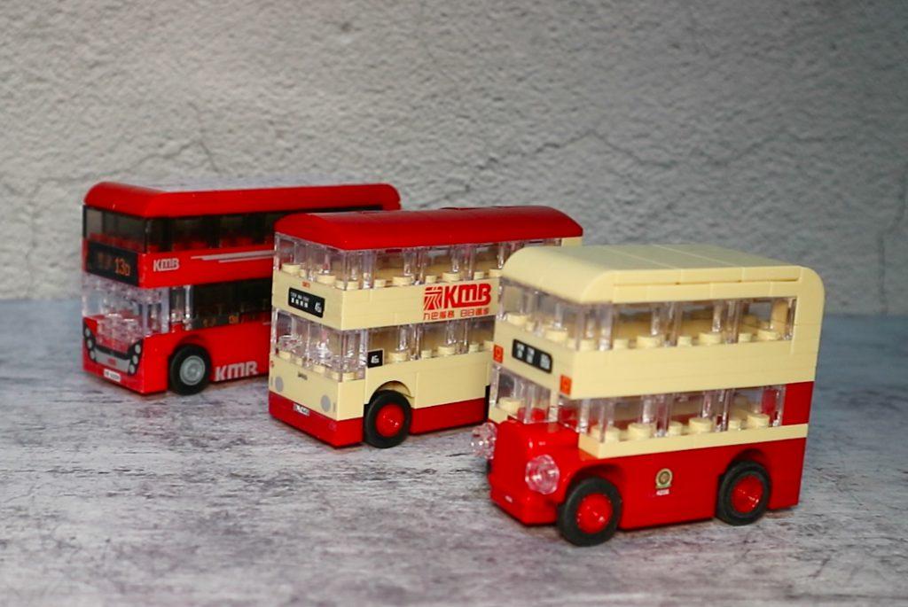 經典巴士玩具模型