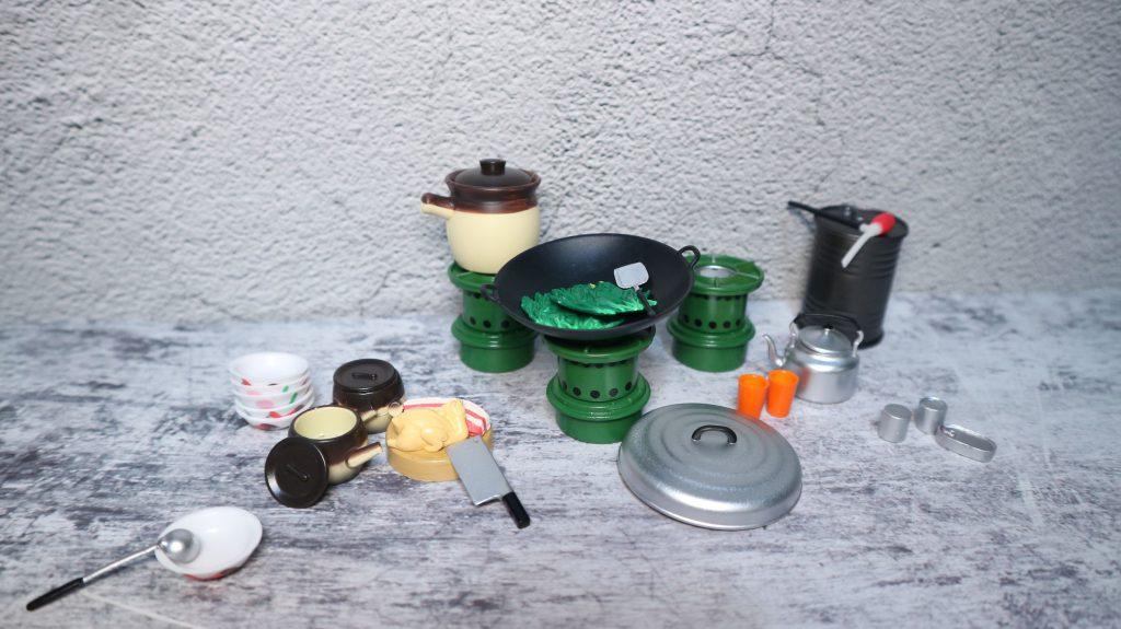 迷你廚房玩具擺設