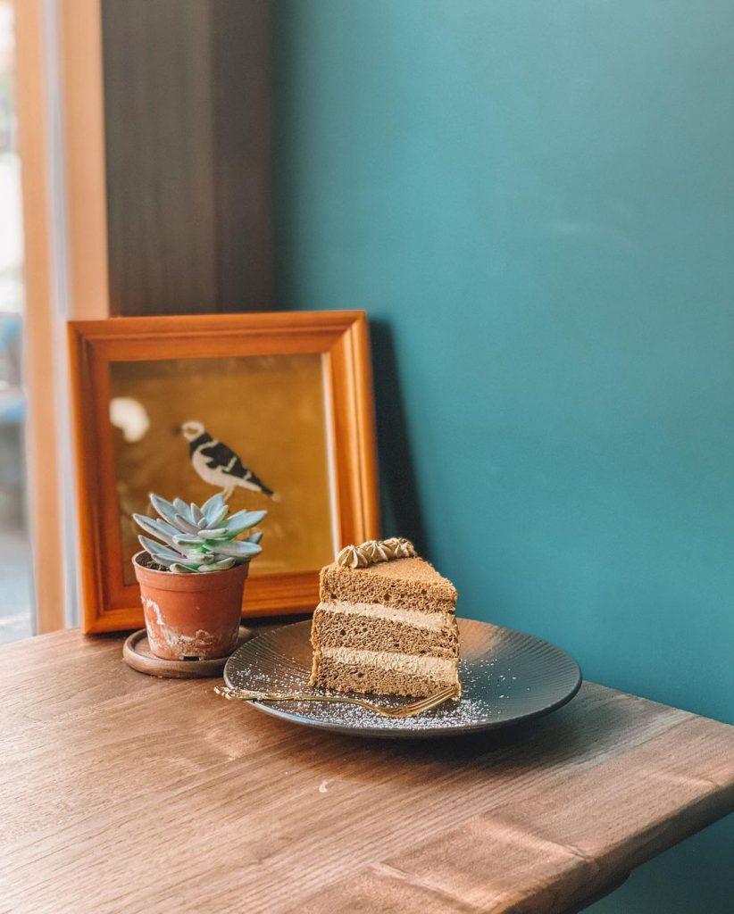 楓子珈啡 黑糖焙茶蛋糕
